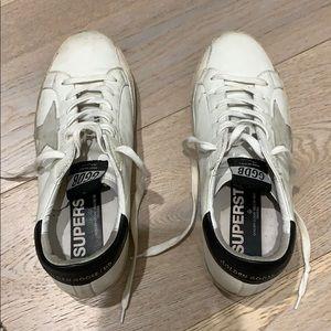 Golden Goose delux distressed sneakers